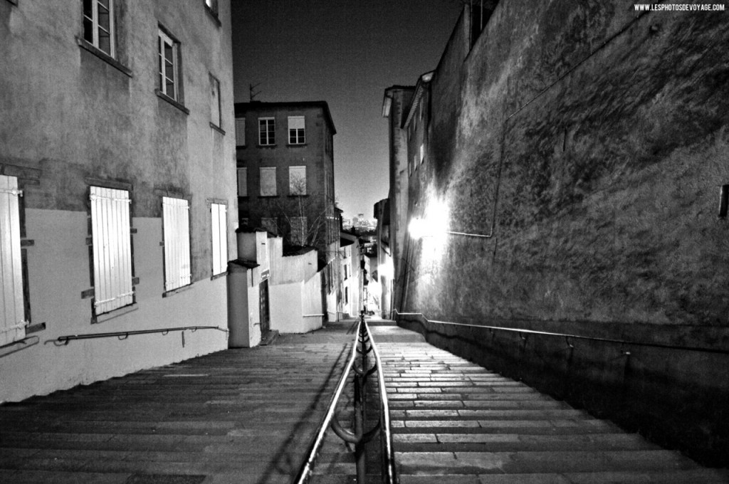 photo lyon la nuit