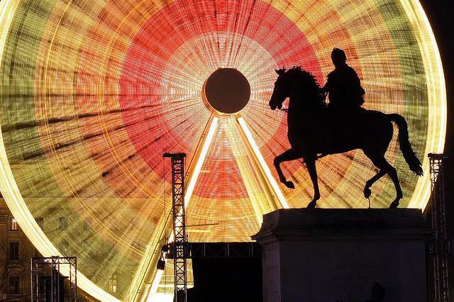 grande roue bellecour cheval
