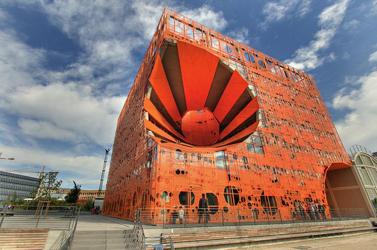 photo cube orange confluence lyon