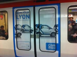 car 2 go bonjour lyon metro