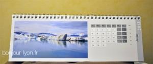 calendrier pixum islande glaciers
