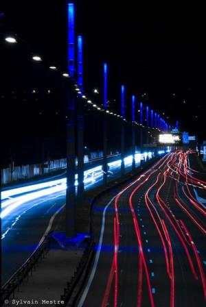peripherique villeurbannen nuit