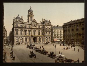 place terreaux photo ancienne