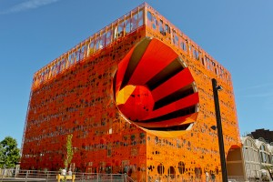 cube orange lyon confluence