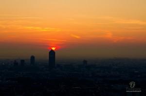 lever de soleil lyon