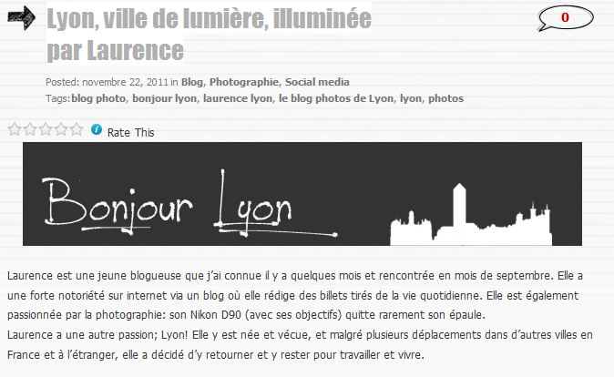 bonjour lyon blog photo