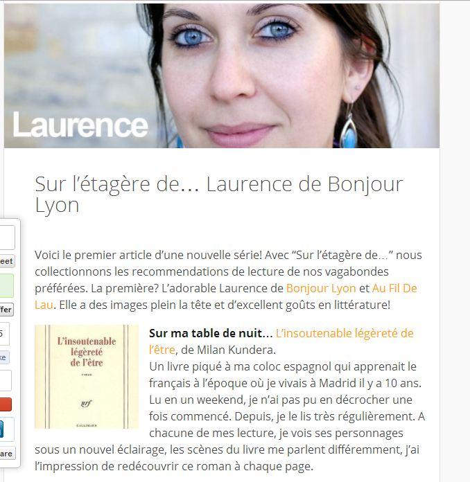 Laurence vagabonde