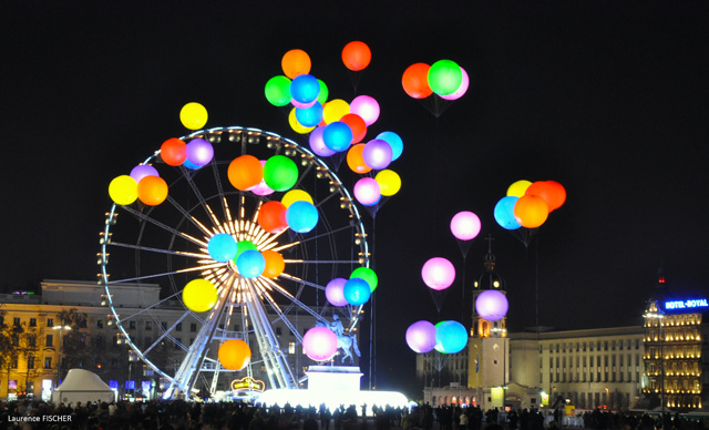 bellecour clouds fete des lumieres