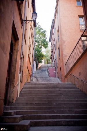 escalier vieux lyon