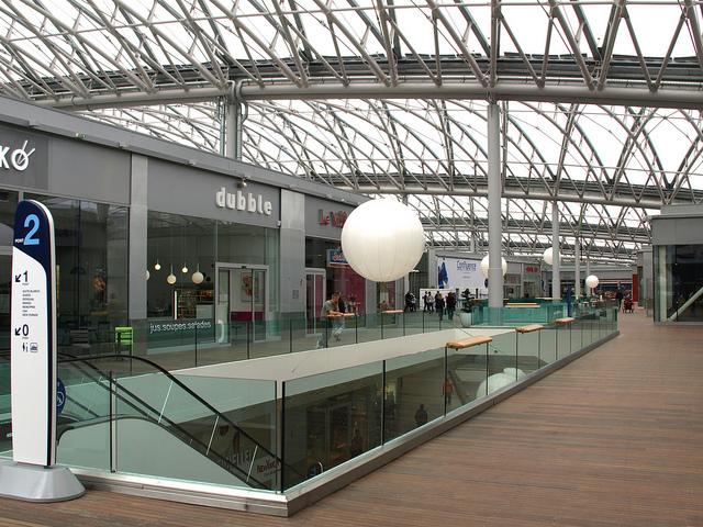 centre commercial confluence lyon