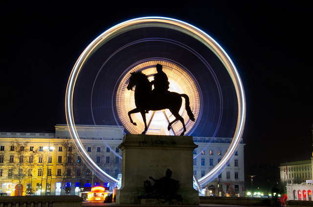 photo grande roue bellecour lyon
