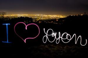 lyon light painting