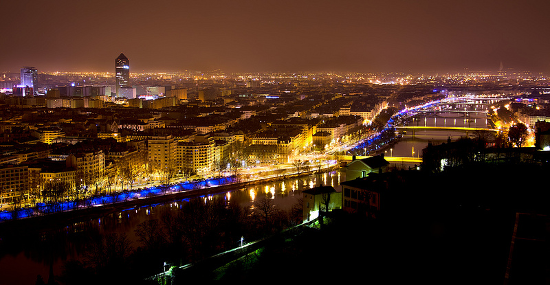 lyon nuit
