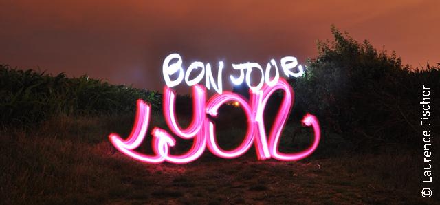 bonjour lyon light painting