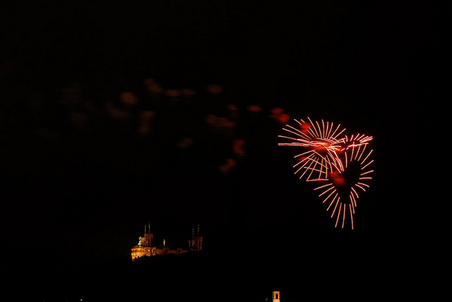 feu artifice lyon fourviere