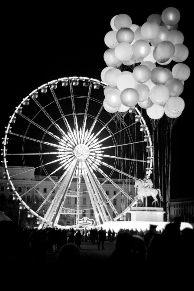 fete lumieres bellecour lyon 2011