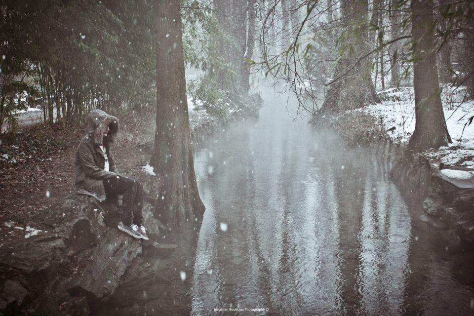 photo parc tete d or sous la neige lyon