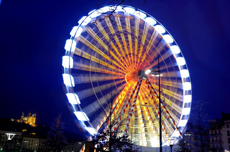grande roue nuit bellcour