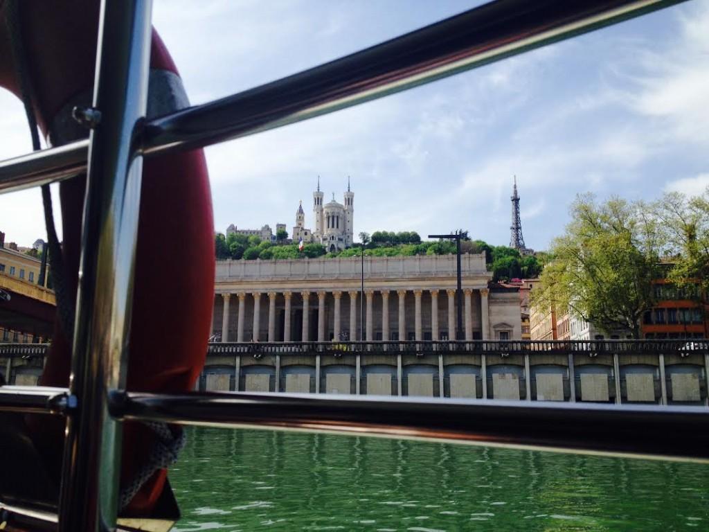 vue bateau lyon