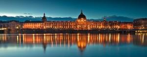 Hôtel Dieu à l'heure bleue, Lyon