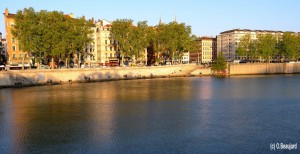 Lyon quai de la Pecherie