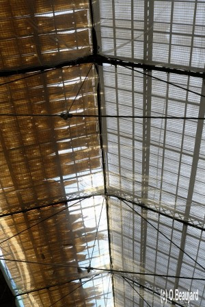 Lyon toit gare de Perrache