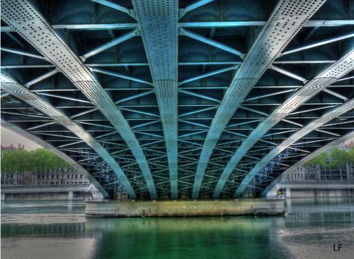 photo pont lafayette lyon