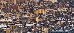 Photo des toits de Lyon