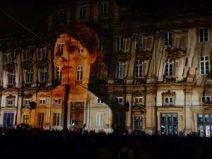 Musée des Beaux Arts de Lyon durant la fête des lumières 2011