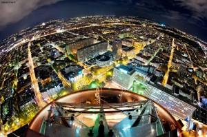 Photo de Lyon vue du haut du Crayon
