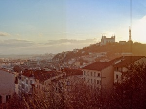 photo vue colline fourviere lyon
