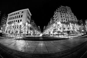 avenue Henri Barbusse à Villeurbanne gratte ciel