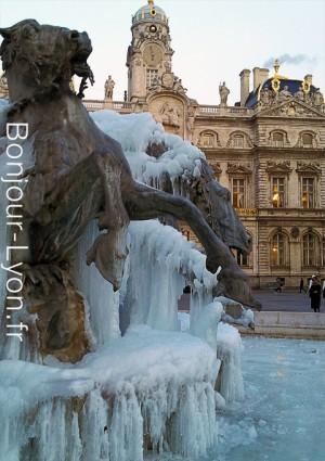 terreaux fontaine gelee