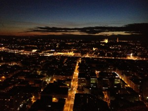 vue lyon nuit