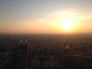 lever soleil sur lyon